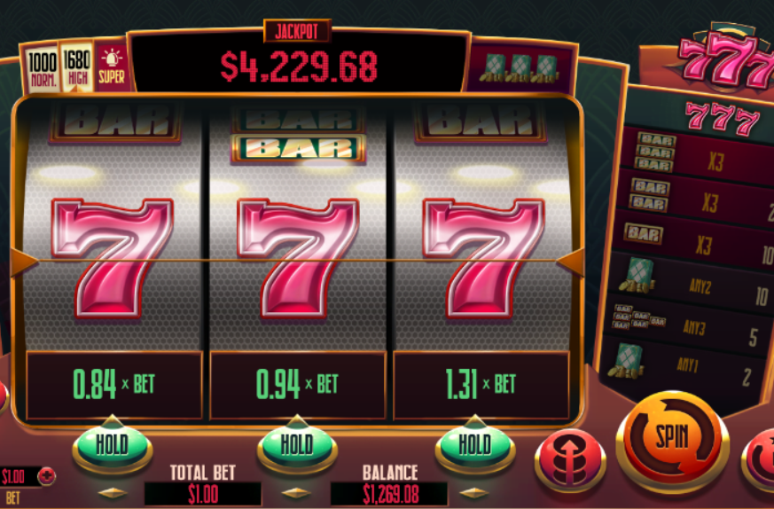 GambleRock 777 Slot Game